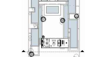 Chenglu Villa house ten second floor plan