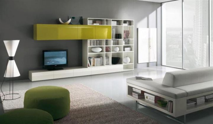 Contemporary Grey and Green