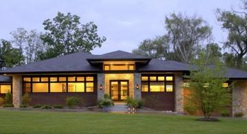 Contemporary Modern Prairie House