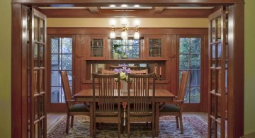 Craftsman House Remodel dining area