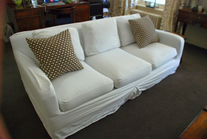 DIY to look like high end slipcover