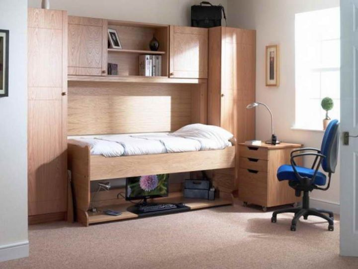 17 Minimalist Desk Bed Combo Designs For Students