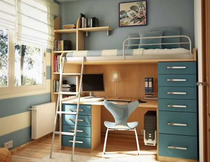 desk bed combo for adults 3