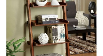 Display ladder for living rooms