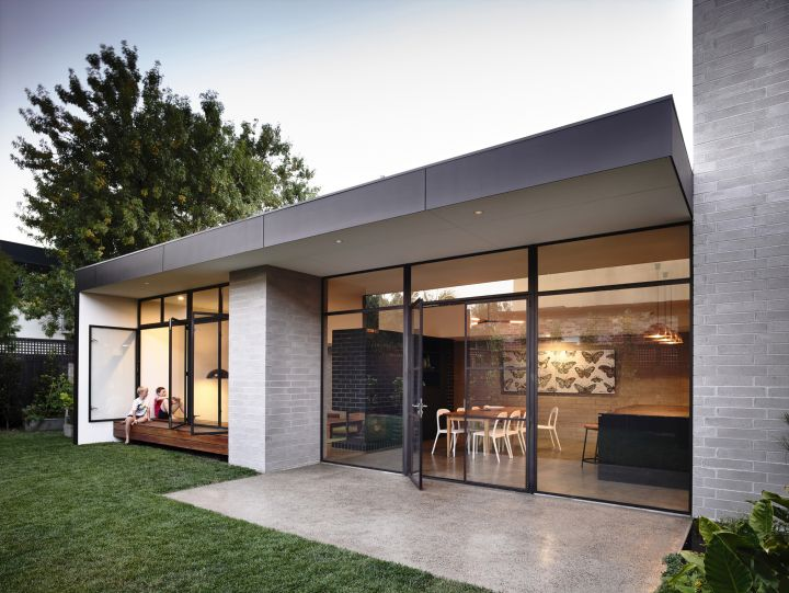 Elwood House dining area extension view