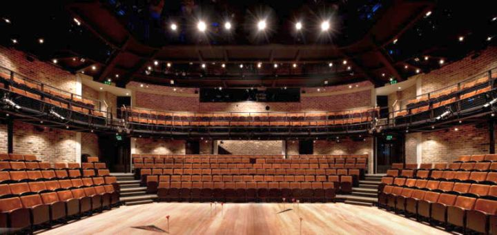 Everyman Theatre Haworth Remodel Inside