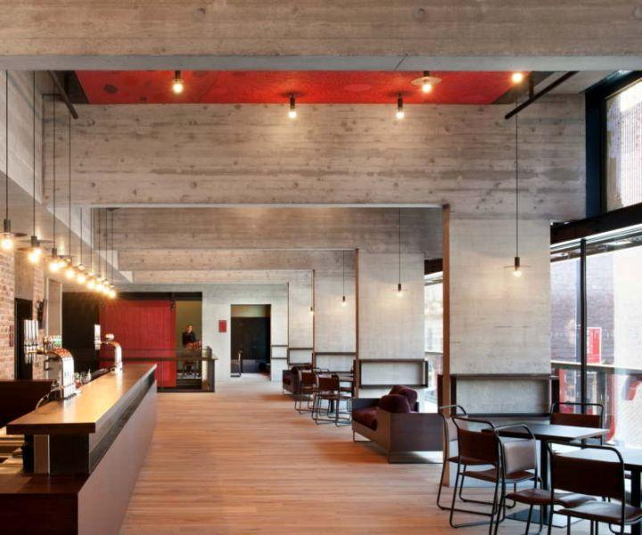 Everyman Theatre Haworth Remodel Lounge