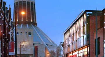 Everyman Theatre Haworth Remodel Street View