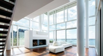 Fire Island Beach House living room first view