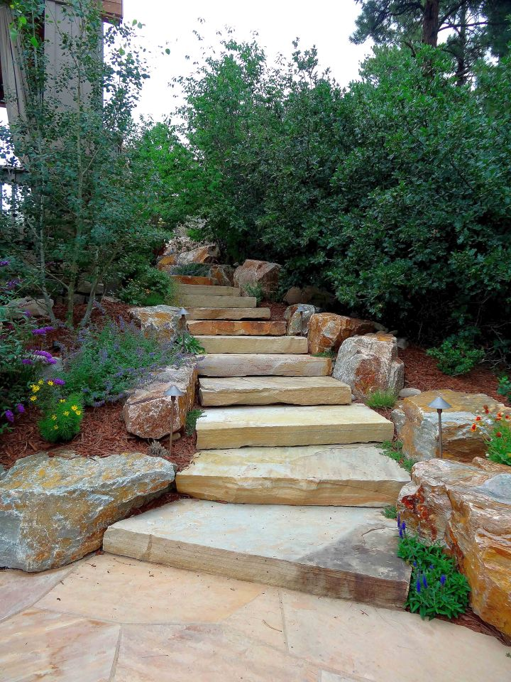 17 Amazing Garden Stairs Designs That Take You To Ultimate