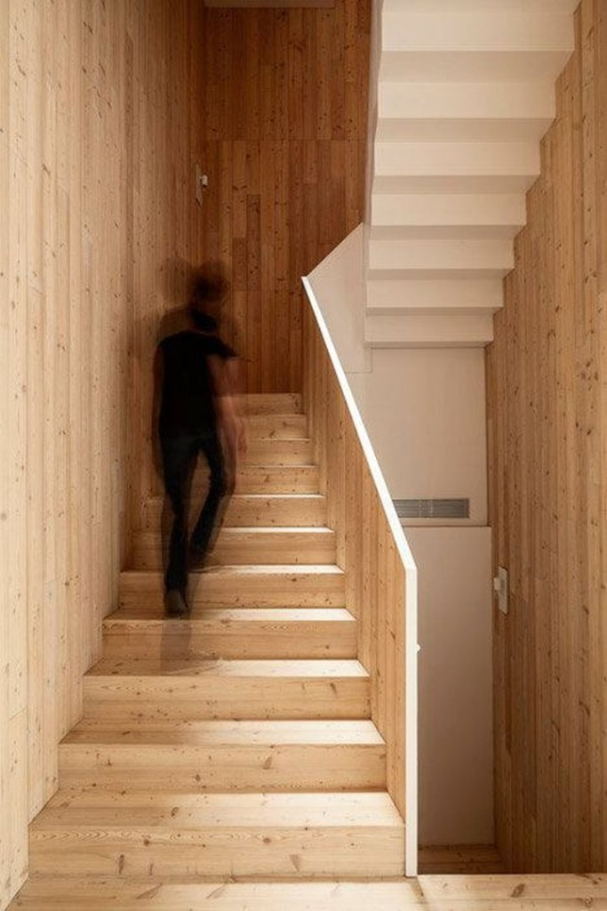 House 1014 main staircase