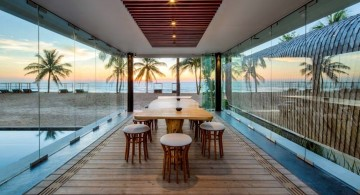 Iniala beach house dining area