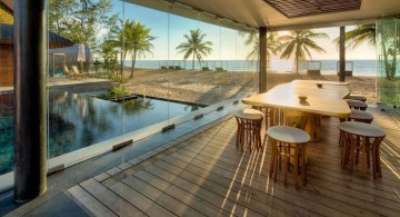 Iniala beach house sea view dining