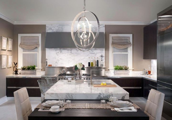 Kitchen island pendant lighting ideas big globe