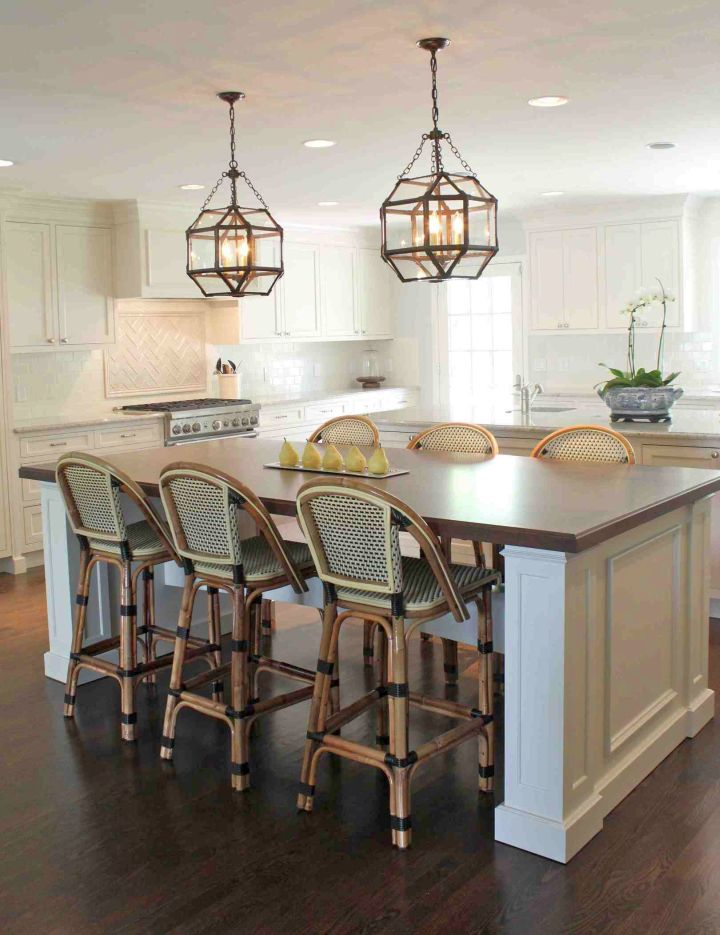 19 Great Pendant Lighting Ideas To Sweeten Kitchen Island: kitchen bench lighting ideas