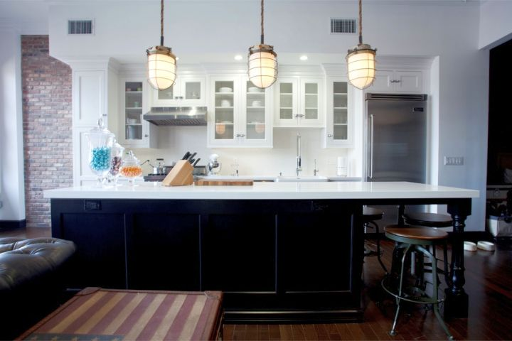 kitchen island pendant lighting ideas nautical. Black Bedroom Furniture Sets. Home Design Ideas