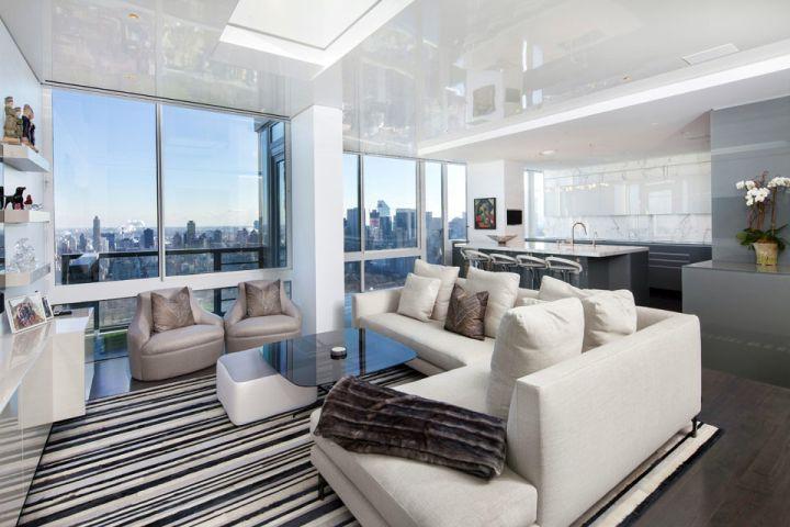 Manhattan penthouse by turett collaborative architecture for Manhattan interior designs