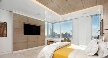 Manhattan Penthouse master bedroom