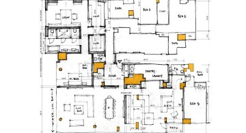 Manhattan Penthouse room plan