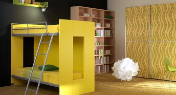 Modern Bunkbed in Retro colors