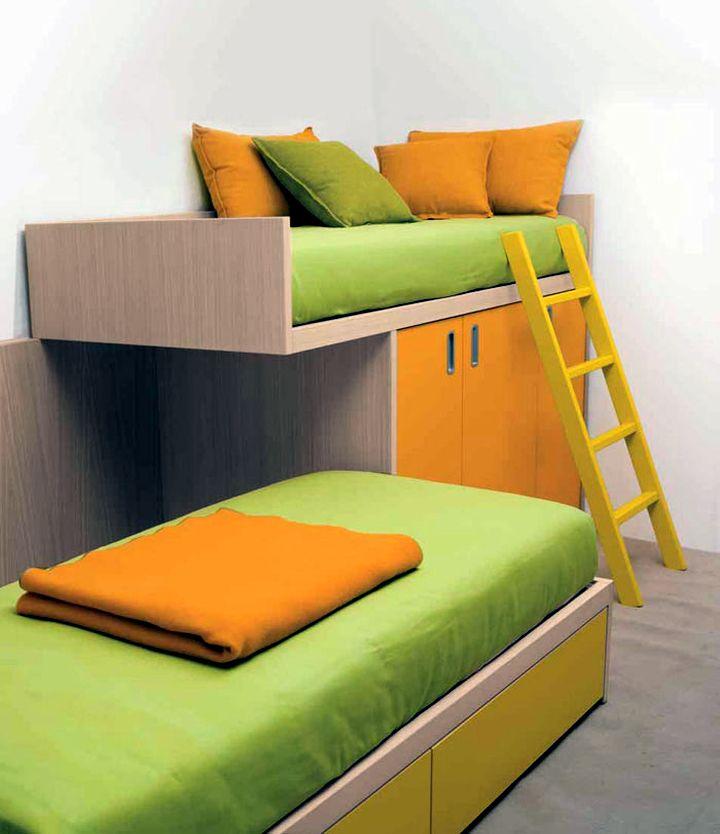 17 Minimalist Modern Bunk Bed Designs