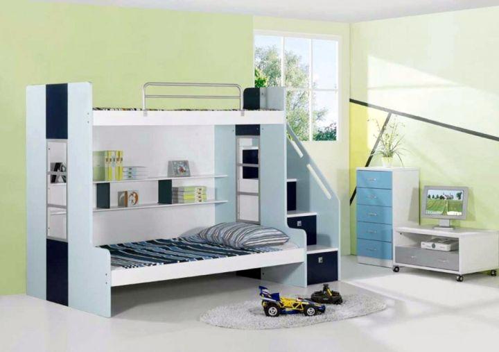 Minimalist modern bunk bed designs