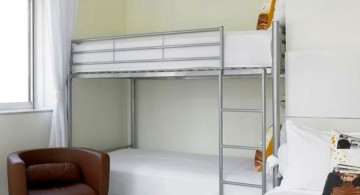Modern Bunkbed in nook