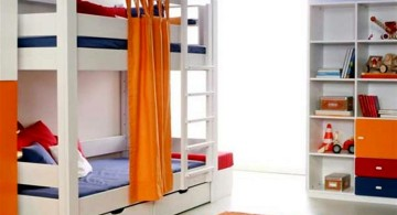 Modern Bunkbed with extra trundle