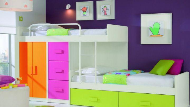 Modern Bunkbed with storage