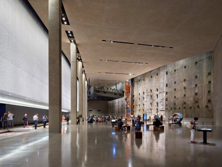 National September Eleven Museum hallway