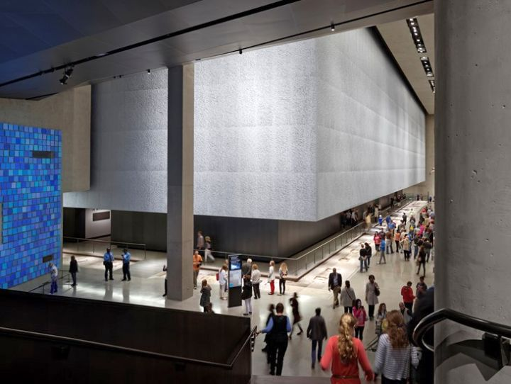 National September Eleven Museum lobby
