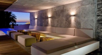 POD Hotel South Africa L shaped modular lounge