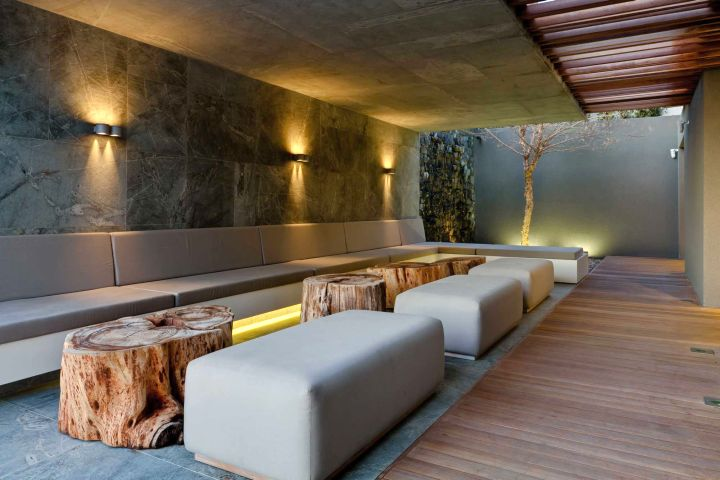 POD Hotel South Africa outdoor lounge
