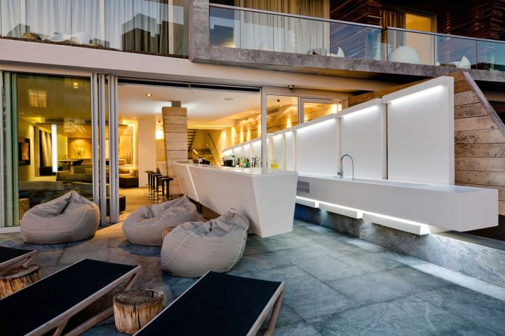 POD Hotel South Africa outdoor poolside lounge