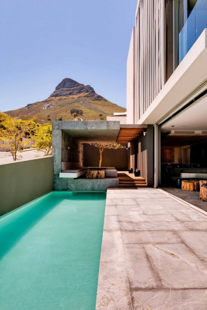 POD Hotel South Africa pool