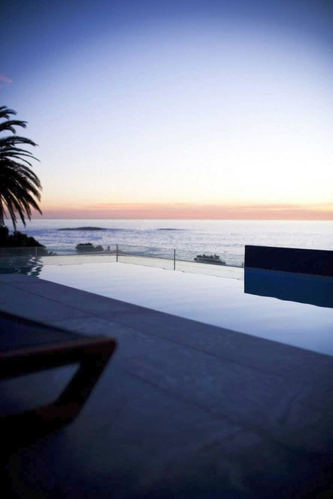 POD Hotel South Africa poolside sunset
