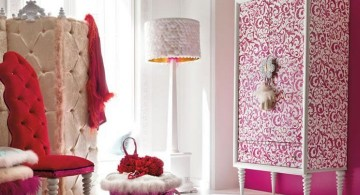Parisienne hot pink room
