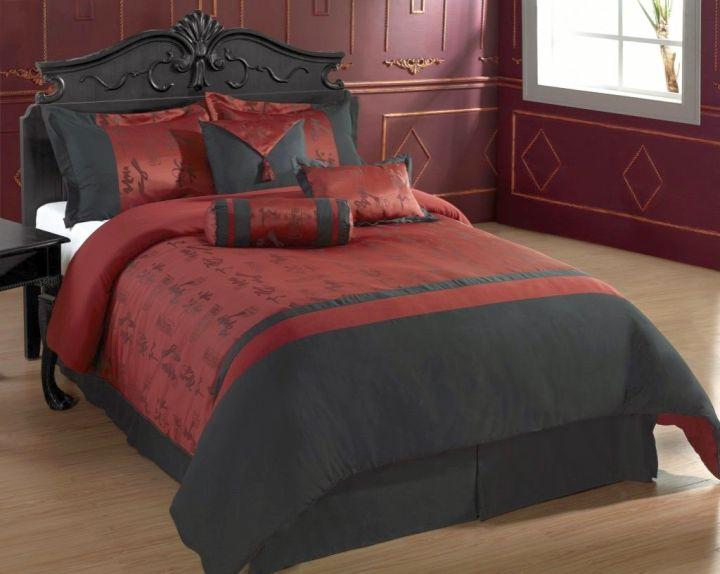 Plush Asian bedroom