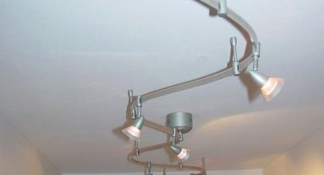 S shaped track lighting ideas