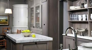 Simple rustic Grey Kitchen Ideas
