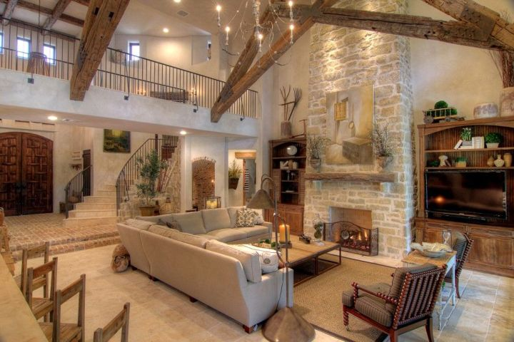 Tuscan Decorating Living Room Ideas