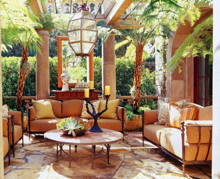 Tuscan Design Ideas tuscan living room ideas photo 3 Tuscan Living Room Decor With Skylight
