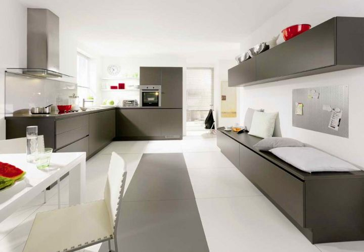 White and Grey Kitchen Ideas