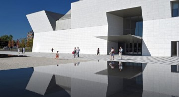 aga khan museum entrance close up