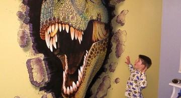 awesome dinosaur wallpaper mural