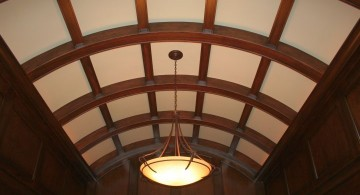 barrel style vault ceilings for a room