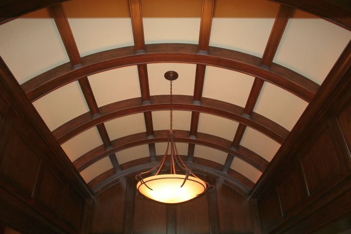 18 amazing vault ceiling designs photos for Barrel ceiling ideas