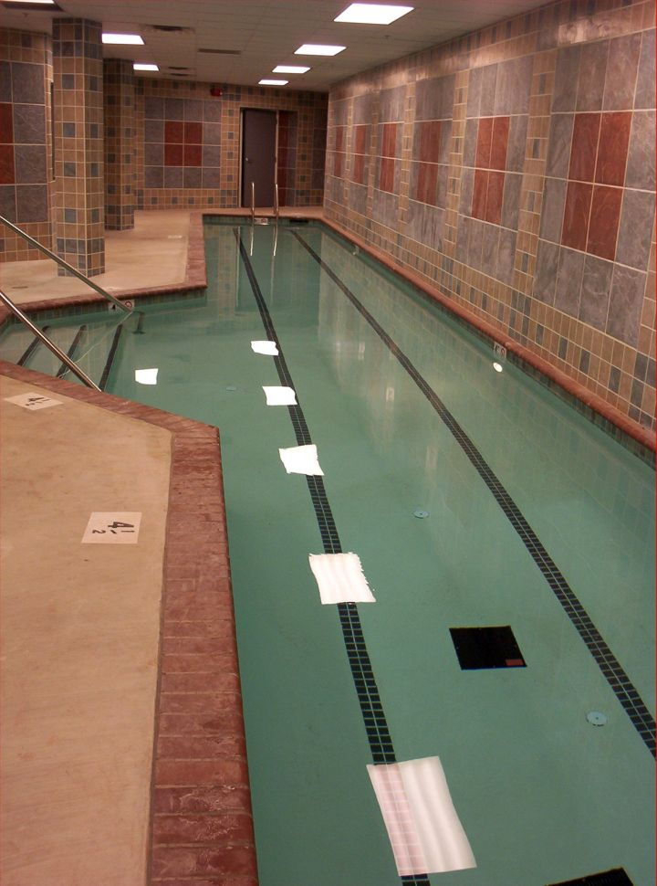 basement indoor lap pool