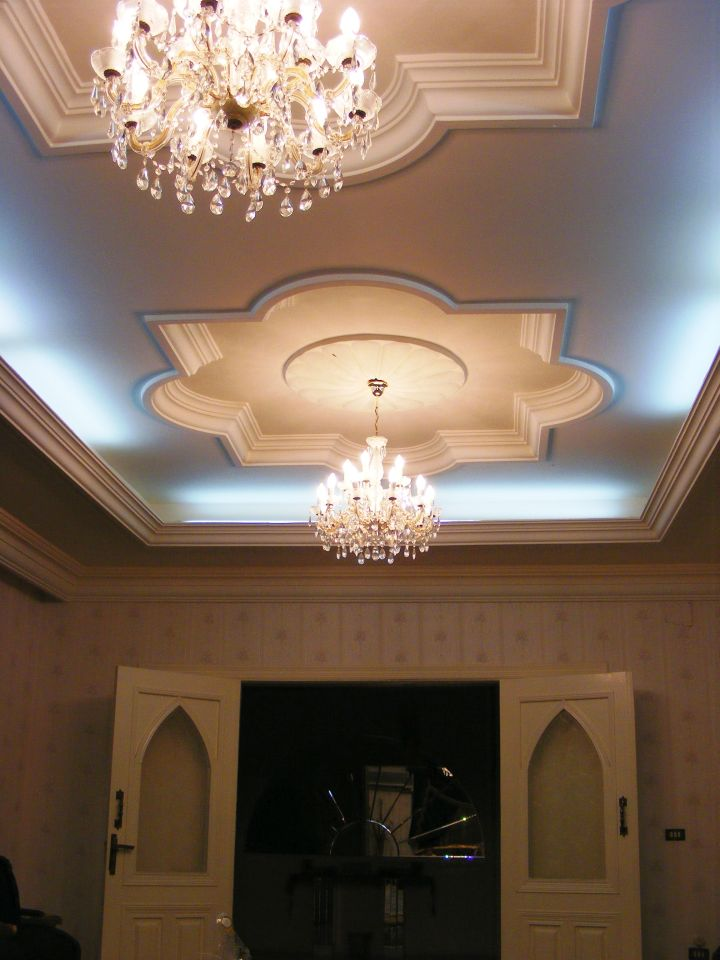 Beautiful ceilings drop ceiling with chandelier for Drop ceiling images