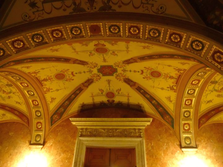 beautiful ceilings vaulted with decoration